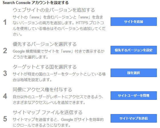 Search Consoleで検索パフォーマンスの改善